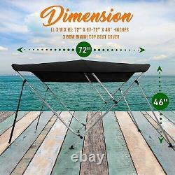 SereneLife Waterproof Boat Bimini Top Cover
