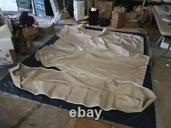 Shademate 1.25 Pontoon Bimini Top, Sunbrella, 10'L x 96-102 W, Linen 1865