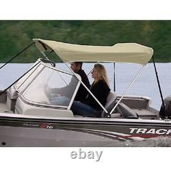 Shademate Bimini Top Polyester Fabric/Boot Only, 2-Bow 5'6L X 42H, 54-60W