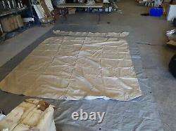 Shademate Pontoon Bimini Big Top, Sunbrella 10'L x 90-96W, Linen 1005