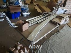 Shademate Pontoon Bimini Top, 1-1/4 Frame, Sunbrella 90-96 W, 8'L, Linen 1756