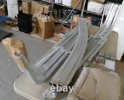 Shademate Pontoon Bimini Top, 1 Frame, Sunbrella, 10'L x 96-102 W, Linen 1812