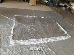 Shademate Rain Shield For Bimini/Hard Tops, 5'H x 8'W (bottom) X 7'W (top) 966