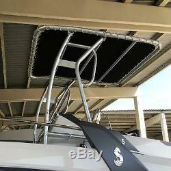 Snoop 510 Bimini T-top Fishing Boat Tower Rack Centre Sun Shade / Cover / Canopy
