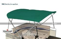 Summerset 4 Bow Bimini Replacement Top, Canvas Only 96L x 96W Teal