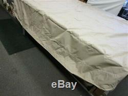 Sun Tracker 25 Regency Canopy Bow / Bimini Top Cover Sand 102 1/2 X 109 Boat