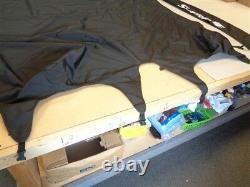 Supreme 208 Bimini Top Cover W / Boot Dmp258 Black 74 X 70 Marine Boat