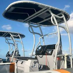 T600 Bimini White T-top Fishing Boat Centre Tower Shade / Cover / Canopy