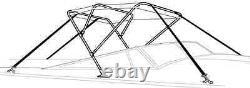 TAYLOR MADE 42697 -Aluminum -3 BOW BIMINI TOP FRAME, 6' x 42 high x 91-96