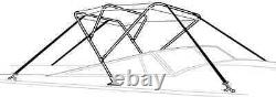 TAYLOR MADE 54897 -Aluminum -4 BOW BIMINI TOP FRAME, 8' x 54 high x 91-96