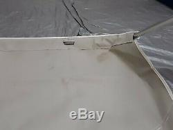 Taylor Made Tower Bimini Top, for Wakeboard Tower, 68 71, White 866
