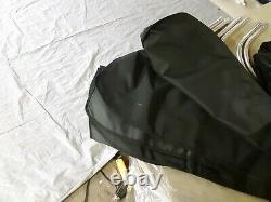Taylor Made Wakeboard Tower Bimini Top, 48L x 16H x 68 71W, Black 1085