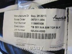 Thunderbird 351 Black 115895008 Bimini Top Cover 99 5/8 W X 111 3/4 L Boat