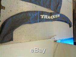 Tracker Pro Guide V 175 (2001 2019) Bimini Top Cover W / Boot Gray Boat