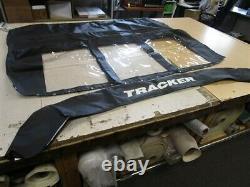 Tracker Targa 18 Walkthrough Bimini Top And Boot 72268-05 (2004 2005) Boat