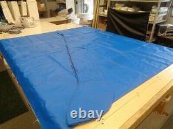 VEADA 4 BOW BLUE BIMINI TOP COVER With BOOT 94 L X 94 W 104 L X 11 W BOAT