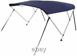 VINGLI Bimini Top Boat Cover Sun Shade Boat Canopy Waterproof 3 B 6L 46Hx54 60