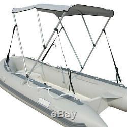 VIVOHOME 67-72 Folding Boat Kayak Bimini Shade Canopy Top Cover Sun Shelter US