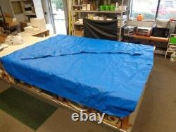 Veada 34042106 (2013) Bimini Top Cover With Boot Blue 121 X 105 1/2 Marine Boat