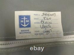 Veada 34042109 (2015) Bimini Top Cover With Boot Gray 121 1/2 X 105 1/2 Boat